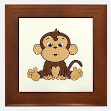 Monkey Framed Tile