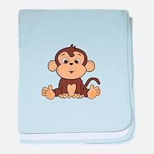 Monkey baby blanket