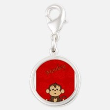 Monkey with Bananas Charms