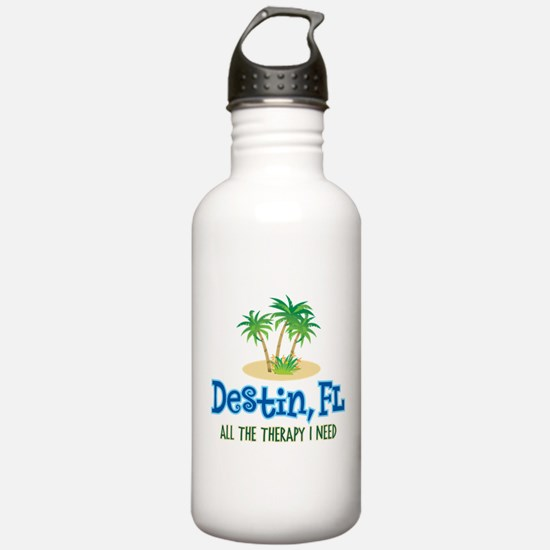 Destin Florida Therapy Water Bottle