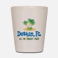 Destin Florida Therapy - Shot Glass