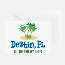 Destin Florida Therapy - Greeting Card