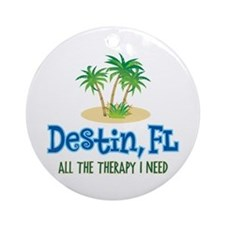 Destin Florida Therapy - Ornament (Round)