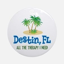 Destin Florida Therapy - Ornament (Round)