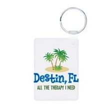 Destin Florida Therapy - Aluminum Photo Keychain