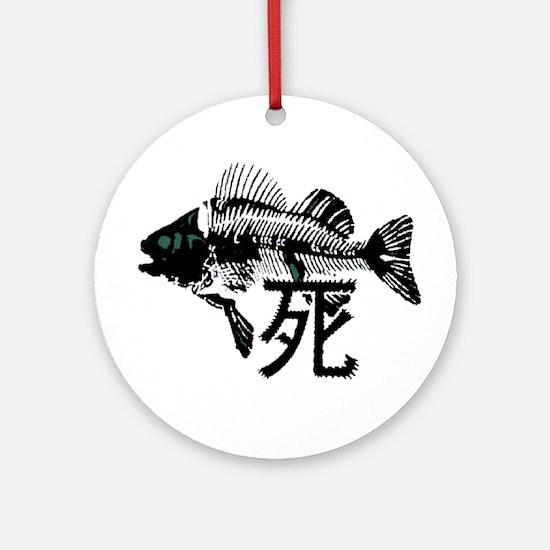 Pthalios Dead Fish Ornament (Round)