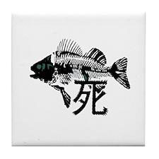 Pthalios Dead Fish Tile Coaster