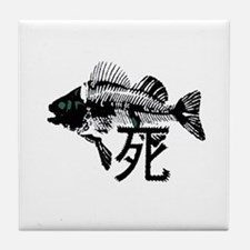 Pthalios Dead Fish Tile Coaster