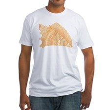 Conch Shell Doodle Art T-Shirt