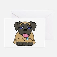 Mastiff Baby (Fawn) Greeting Cards (Pk of 10)