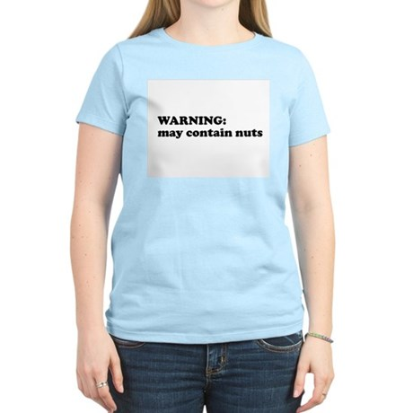 May Contain Nuts Women's Light T-Shirt