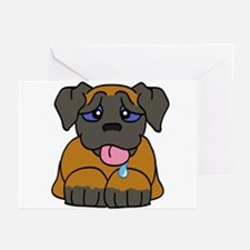 Mastiff Baby (Apricot) Greeting Cards (Package of