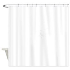I1White Shower Curtain