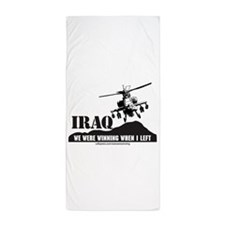 I1White Beach Towel