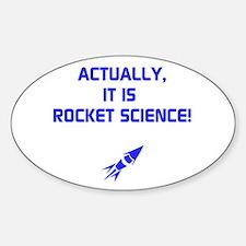 IT IS ROCKET SCIENCE Decal