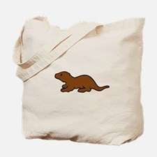 Cute Otter Tote Bag