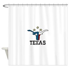 TEXAS Shower Curtain