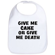 Give me Cake Bib