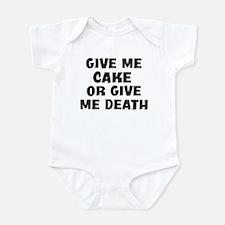 Give me Cake Infant Bodysuit