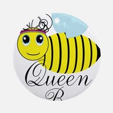 Queen Bee Ornament (Round)
