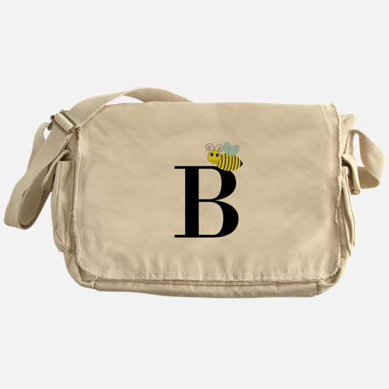 B is for Bee Messenger Bag