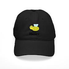 Bee Happy Honey Bee Baseball Hat