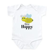 Bee Happy Honey Bee Body Suit