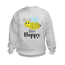 Bee Happy Honey Bee Sweatshirt