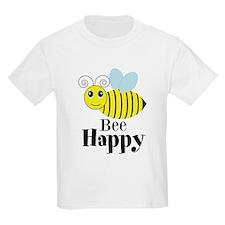 Bee Happy Honey Bee T-Shirt