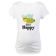 Bee Happy Honey Bee Shirt