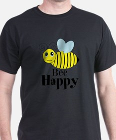 Bee Happy Honey Bee T-Shirt