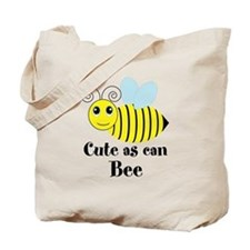 Cute as can Bee Tote Bag