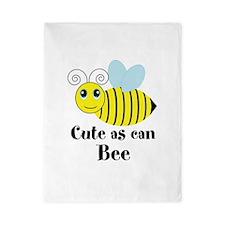 Cute as can Bee Twin Duvet
