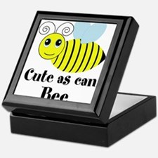 Cute as can Bee Keepsake Box