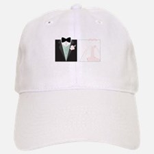 Bride And Groom Baseball Baseball Baseball Cap