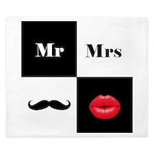 Mr and Mrs King Duvet