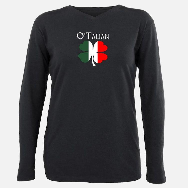 O'Talian 4 Leaf Clover Italian Flag - Irish Italia