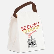 Be Excellent to Eachother Canvas Lunch Bag