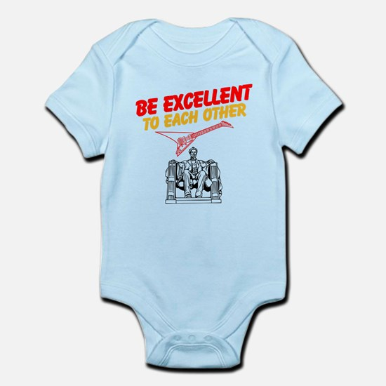 Be Excellent to Eachother Body Suit