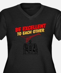 Be Excellent to Eachother Plus Size T-Shirt