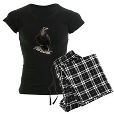 Watercolor Raven Bird Animal Art pajamas