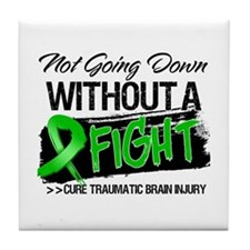 TBI Not Going Down Tile Coaster