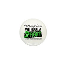 TBI Not Going Down Mini Button (10 pack)