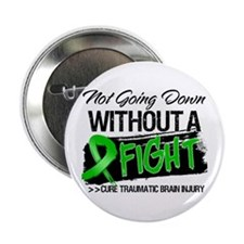 """TBI Not Going Down 2.25"""" Button (10 pack)"""