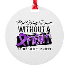 Cure Sjogrens Syndrome Ornament