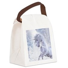 A Dream Of Unicorn Canvas Lunch Bag