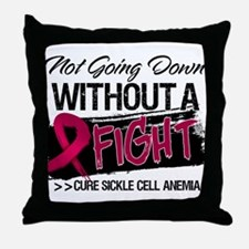 Sickle Cell Anemia Throw Pillow
