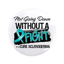 "Cure Scleroderma 3.5"" Button"