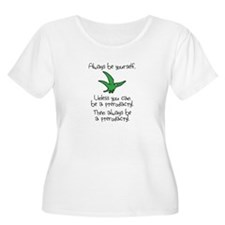 Always Be A Pterodactyl Plus Size T-Shirt