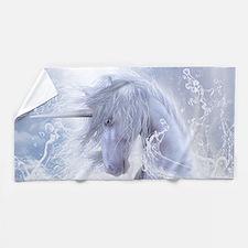 A Dream Of Unicorn Beach Towel